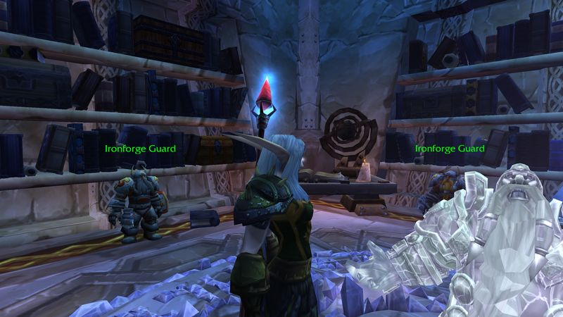 It's a bummer that Magni is now Crystal Clear; likewise it's a bummer when your raid seating priotiy is not.