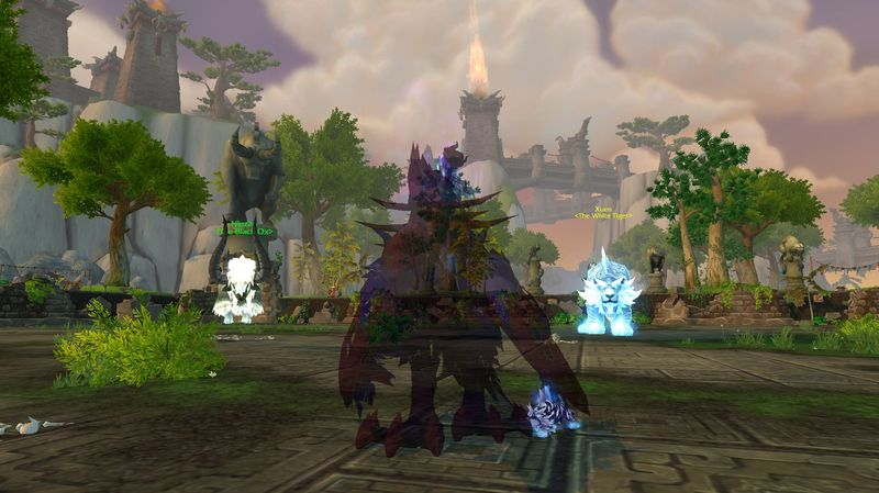 A shadowy Xu-Fu battle pet with Anexxia