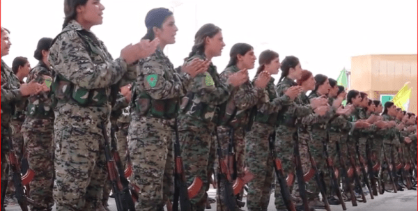 ANF | 250 fighters finish training cycle and join the YPJ ...