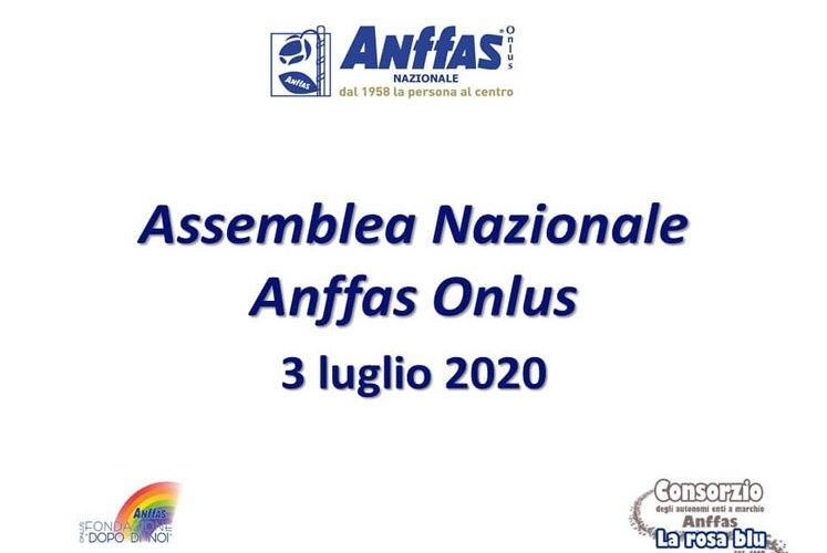"""Assemblea Nazionale Anffas 2020 – """"Anffas prove di futuro"""": ri-partiamo da qui!"""