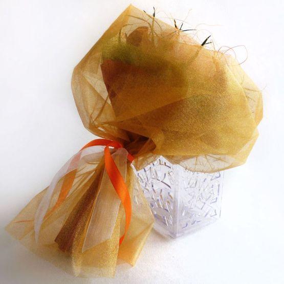 Букет из конфет: В сочной гамме