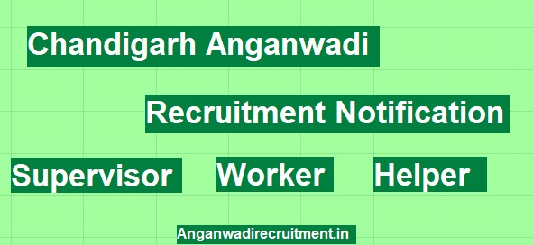 Image Chandigarh Anganwadi Jobs