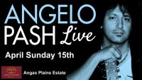 Live Music with Angelo Pash