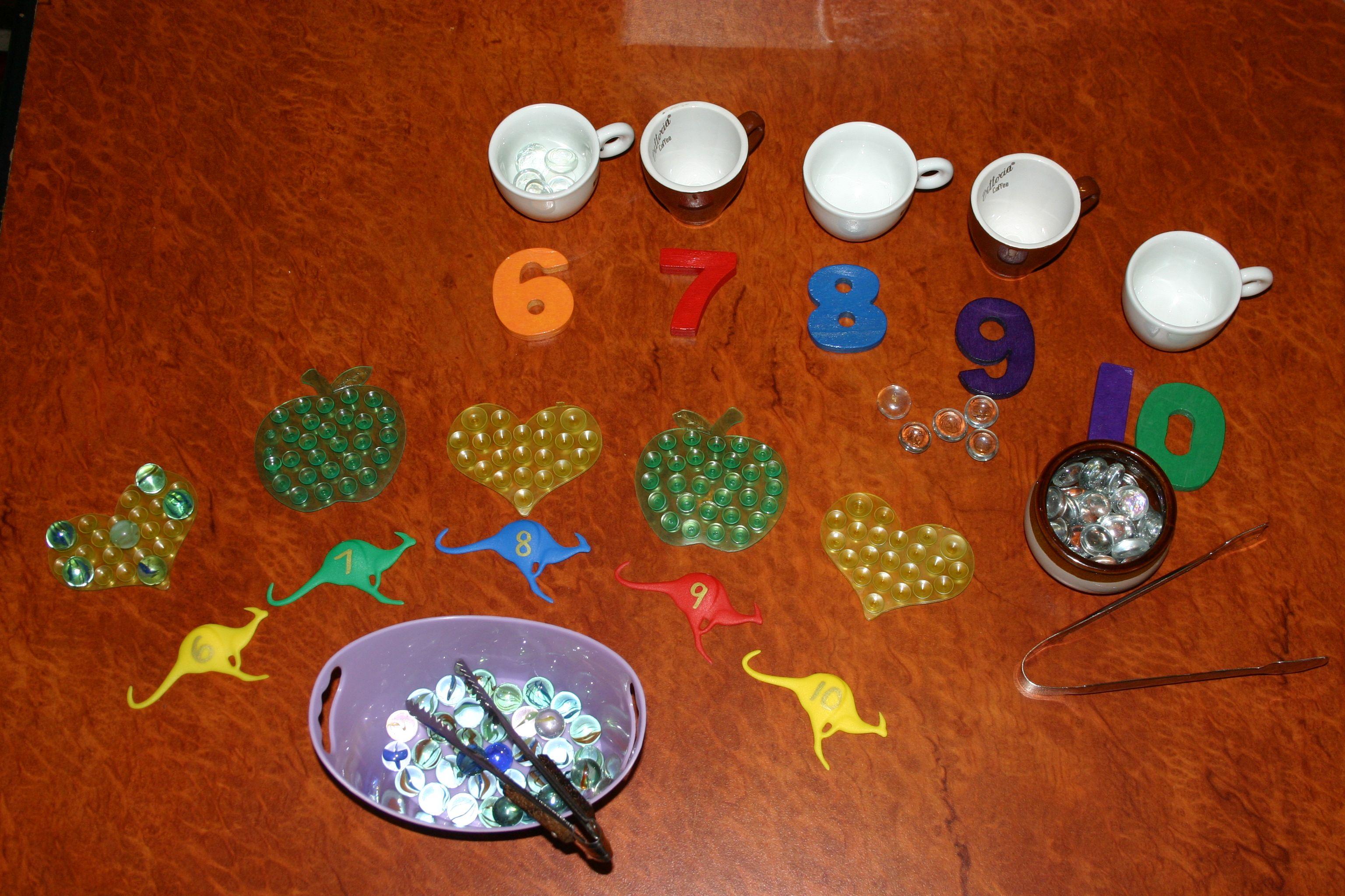Montessori Style Tray Activities For Preschoolers