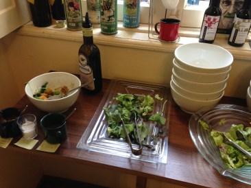 O buffet de saladas ®SKLindemann
