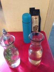 As águas: sem gás e saborizada. ®SKLindemann