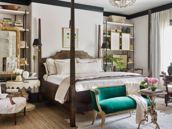 Ashley Gilbreath grandmillennial bedroom