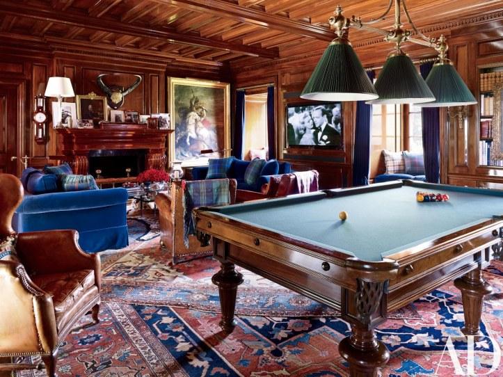 Ralph Lauren game room