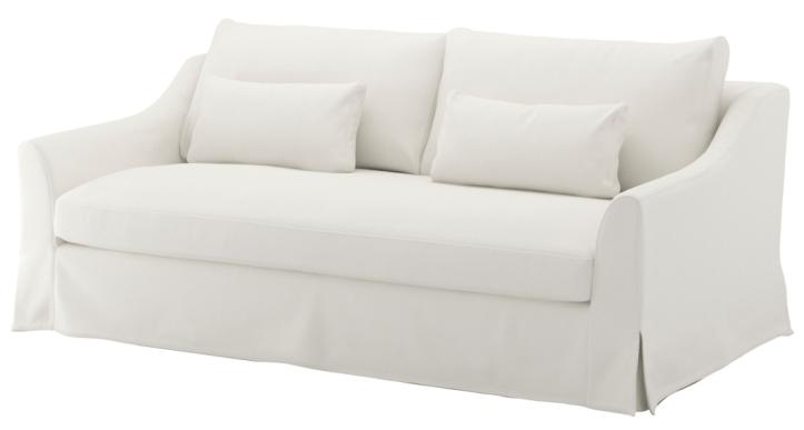 IKEA Farlov sofa in white