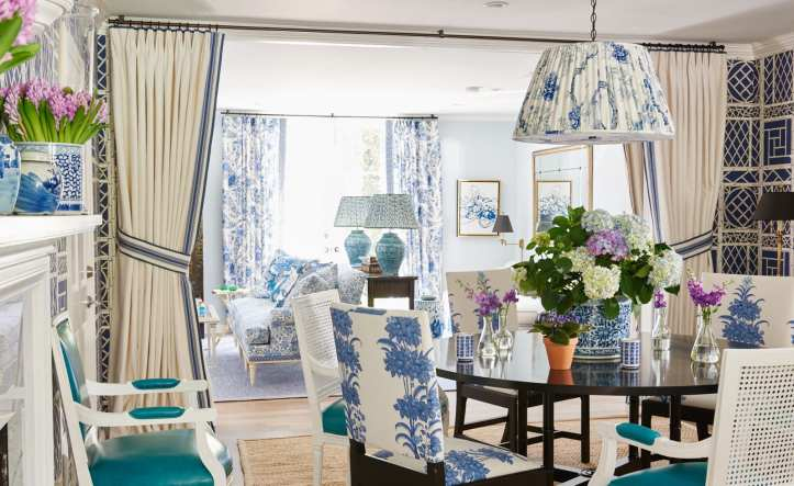 Mark D. SIKES BLUE DINING ROOM