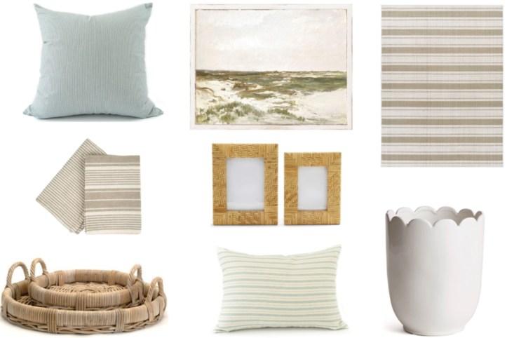 Beach house decor accessories