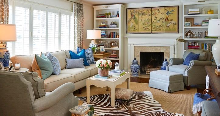 Maggie Griffin Design living room