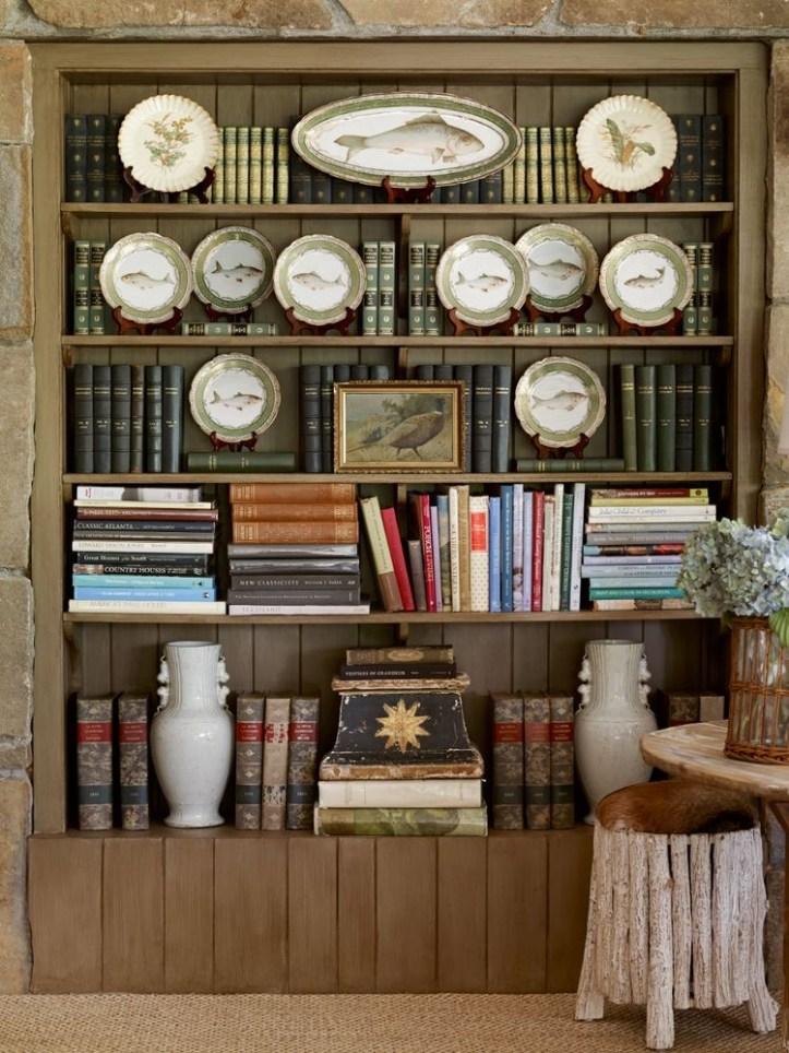 James T. Farmer bookcase