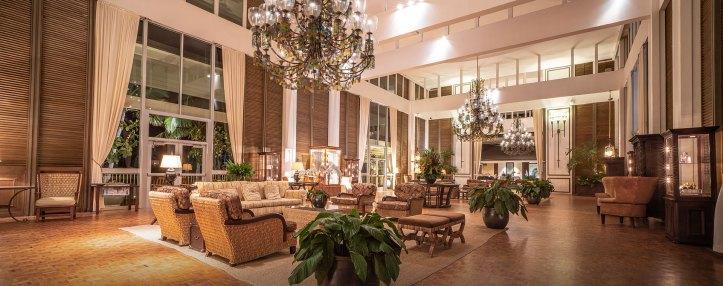 The Kahala Hotel and Resort lobby
