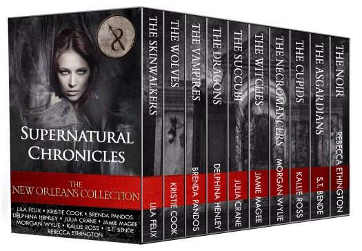 urban fantasy paranormal romance Supernatural Chronicles