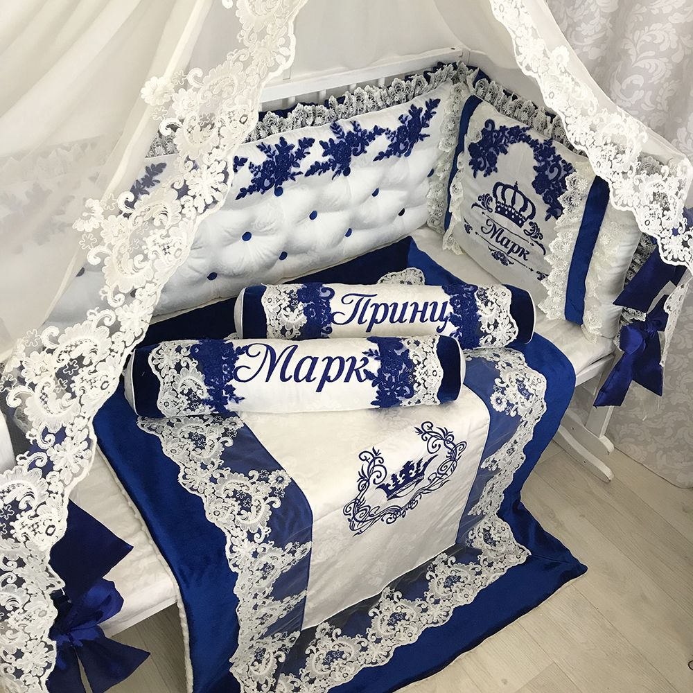 http angel dreams com bedding crib bedding sets classic blue prince crib bedding set