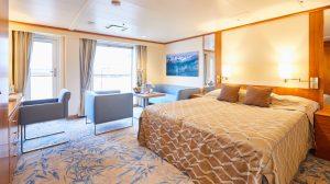 Hapag-Lloyd Cruises, MS BREMEN, Hamburg, DEU, 13.10.2016, Werfterneuerungen der MS BREMEN Veranda-Suite