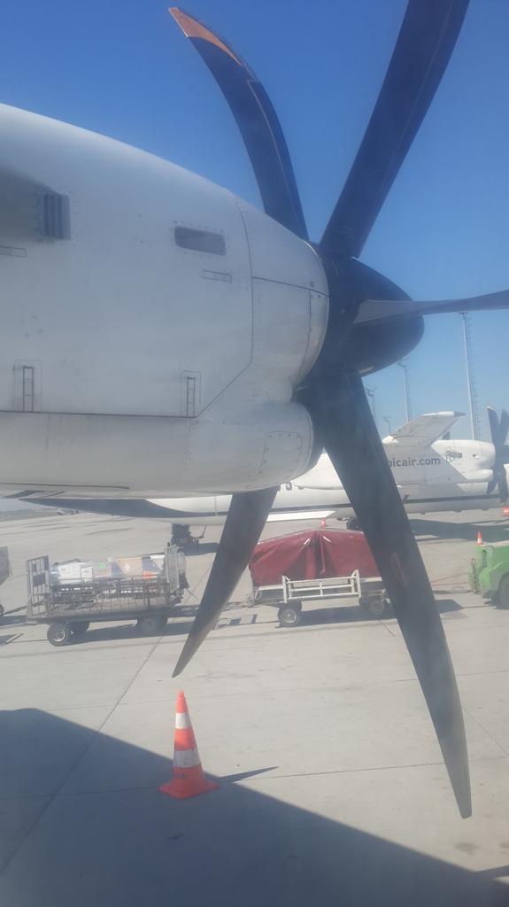 Am zburat cu ATR