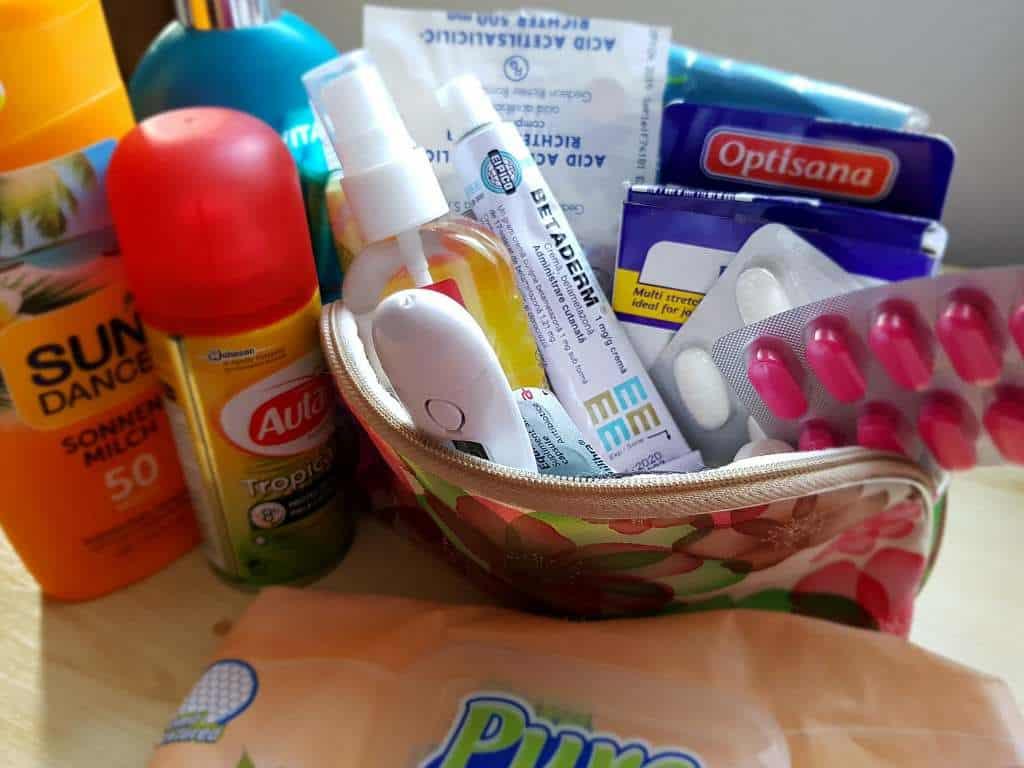 bagajul pentru Cuba - medicamente; Lucruri de care nu mă despart când călătoresc
