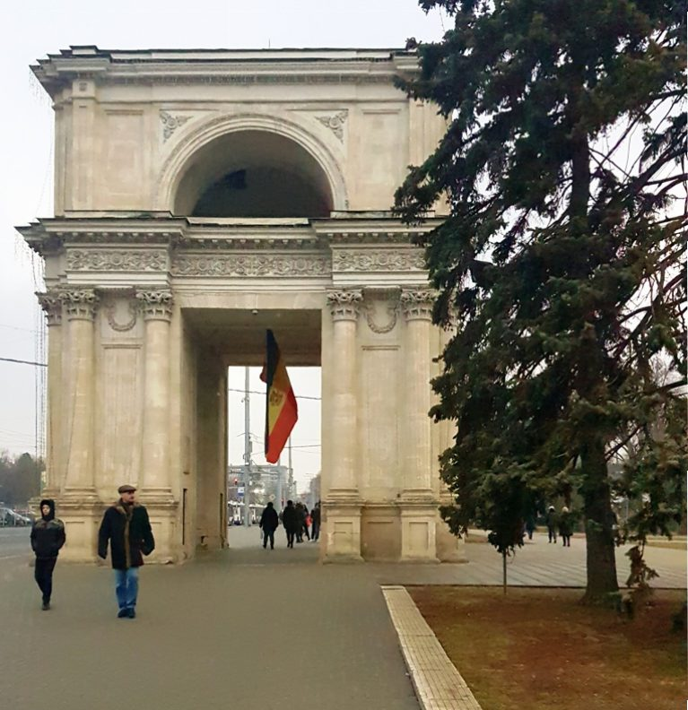 turist în Chișinău