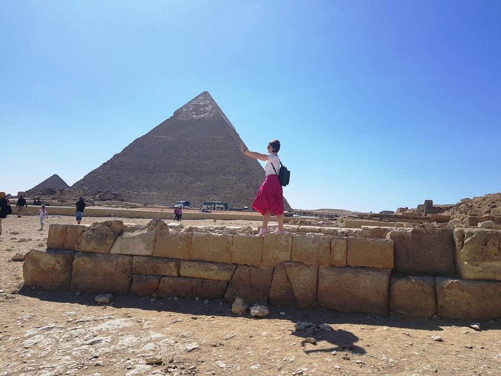 3 zile în Cairo - Piramide