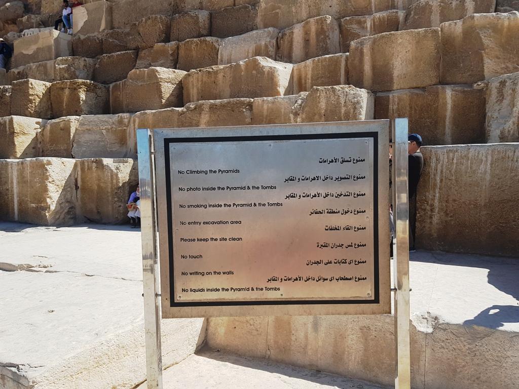 Pe cont propriu la Piramide