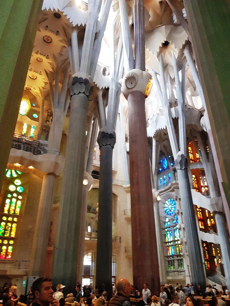 Sagrada Familia - interior