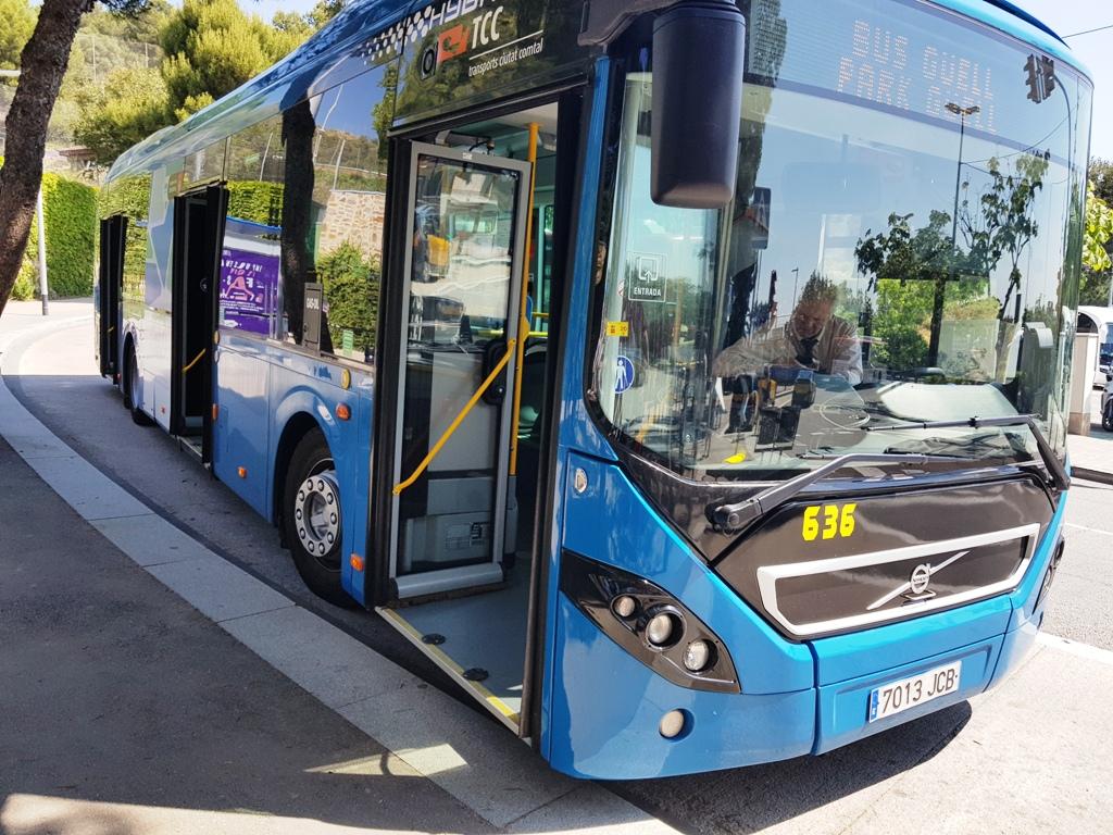 Autobuz Parc Guell Alfons X