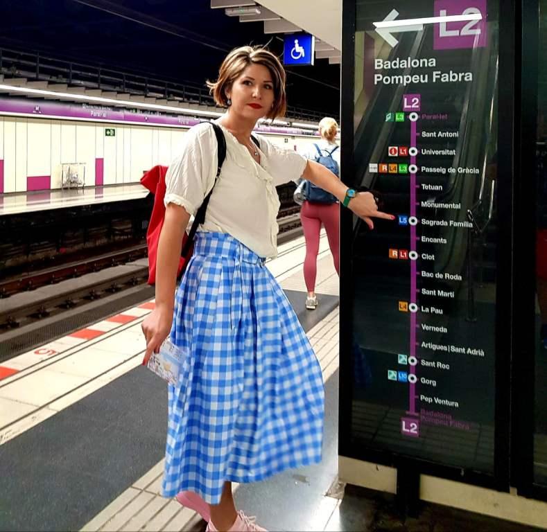 Barcelona în 5 zile - metrou Barcelona