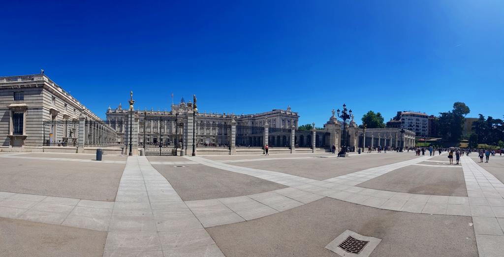 Imagini din Madrid