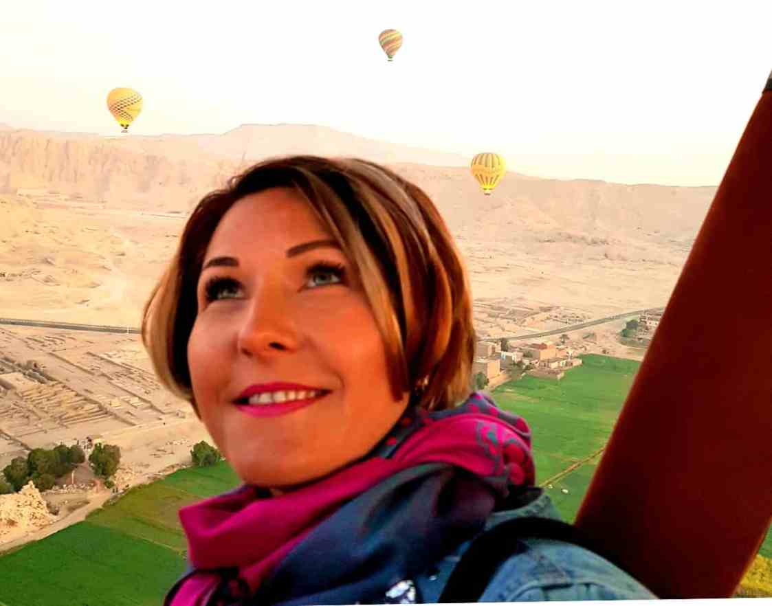 Cu balonul peste Valea Regilor