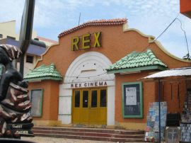 Disused colonial cinema, Accra