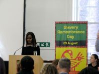 Amma Asante, director of the film Belle, gives the inaugural Dorothy Kuya Slavery Remembrance Day Memorial Lecture, titled Legacy of a Painting