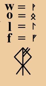 Sigillen und Runen