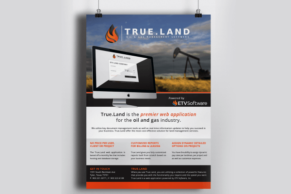 True.Land Flyer Handout