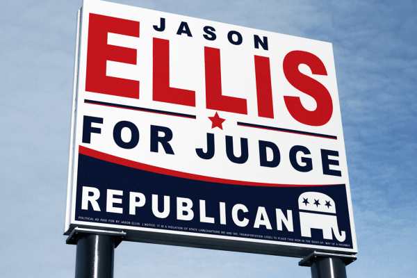 Jason Ellis Outdoor Sign