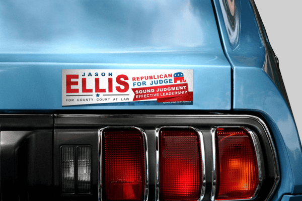 Jason Ellis Bumper Sticker