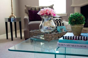 square coffee table style at angelaeast.com