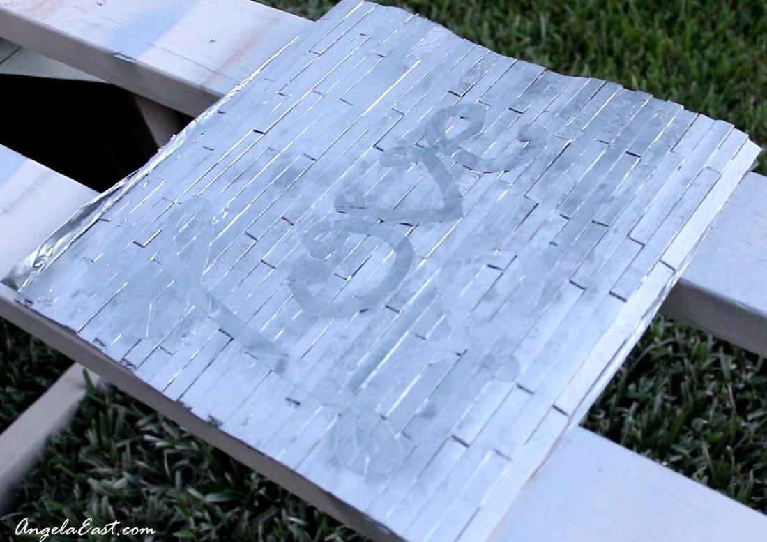 IKEA Hack - DIY Wall Art Transformation #homedecor #dollartree at angelaeast.com