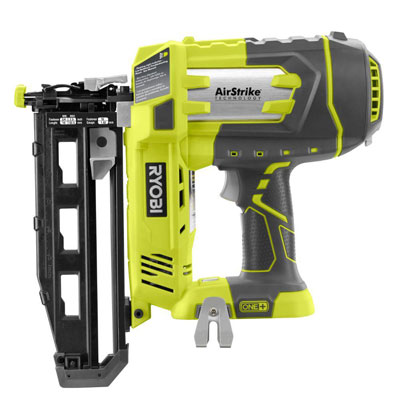 18-Volt ONE+ AirStrike 16-Gauge Cordless Straight Finish Nailer and Lithium Upgrade Kit