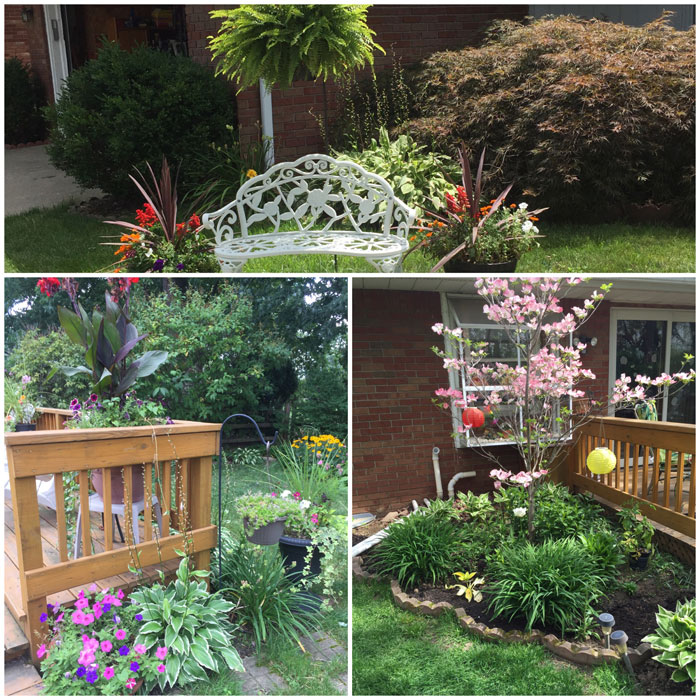 Gardening: Front Yard Curb Appeal | Outldoor Living | Bird Bath | Yard Work |Flowers | Flower Bed |Home Improvement