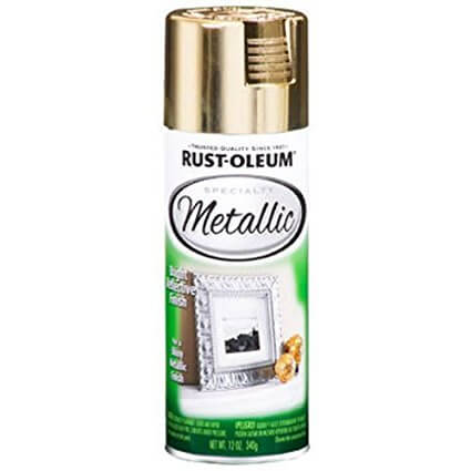 Rustoleum Specialty Metallic Gold Spray Paint