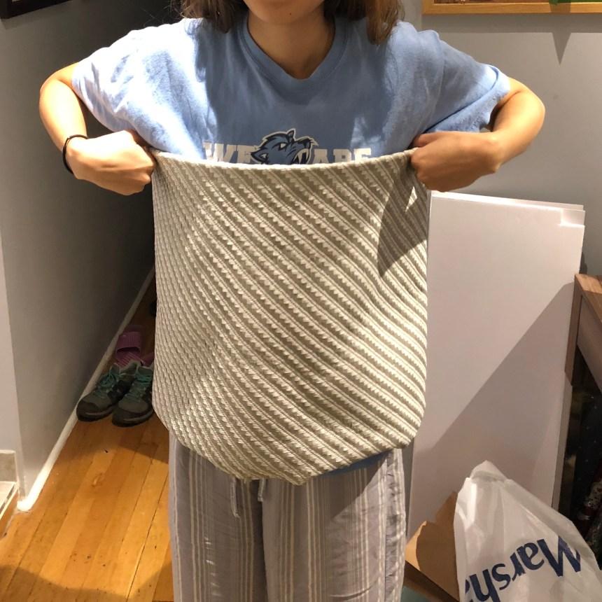 DIY La Croix can costume basket