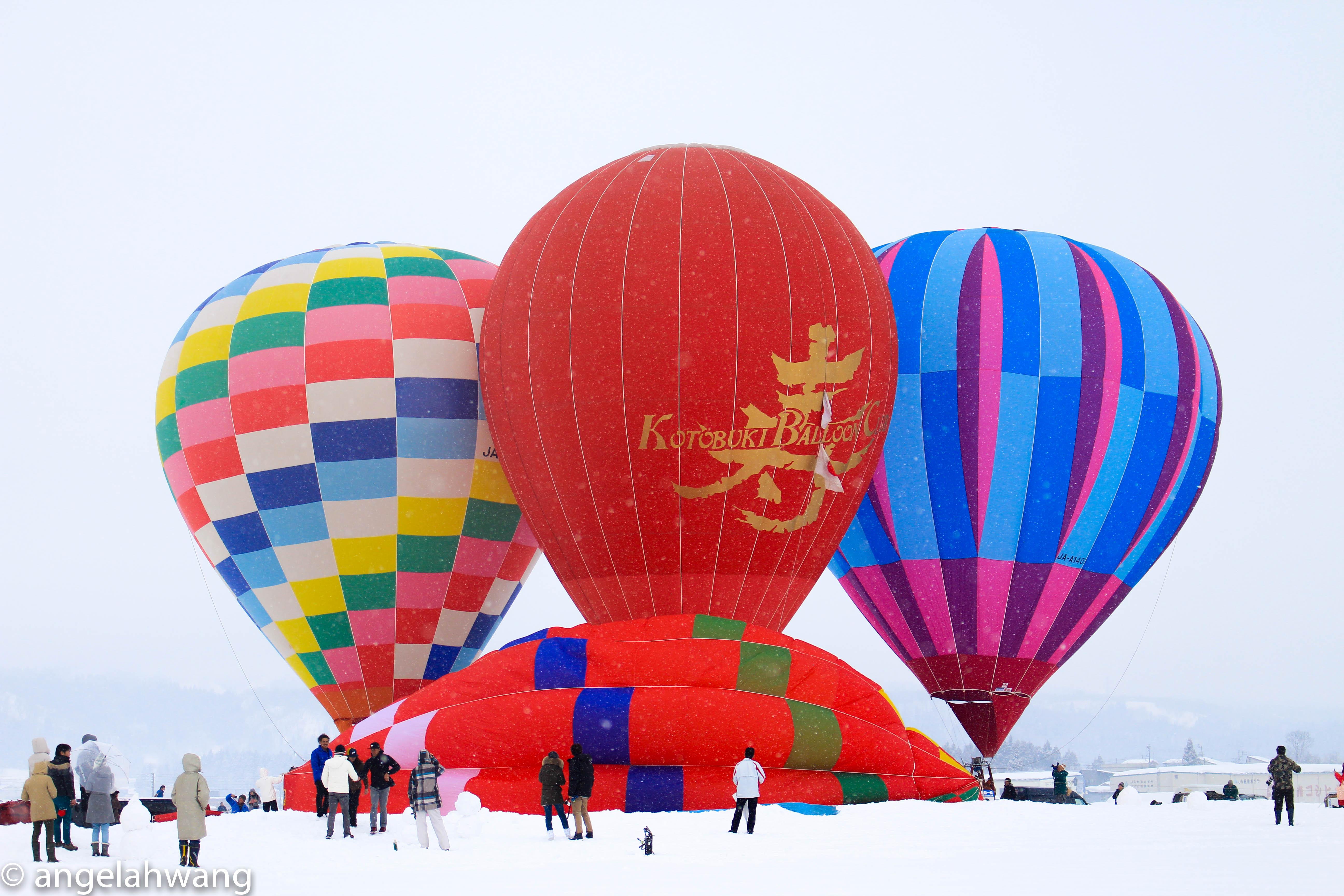 Ojiya Balloon Festival