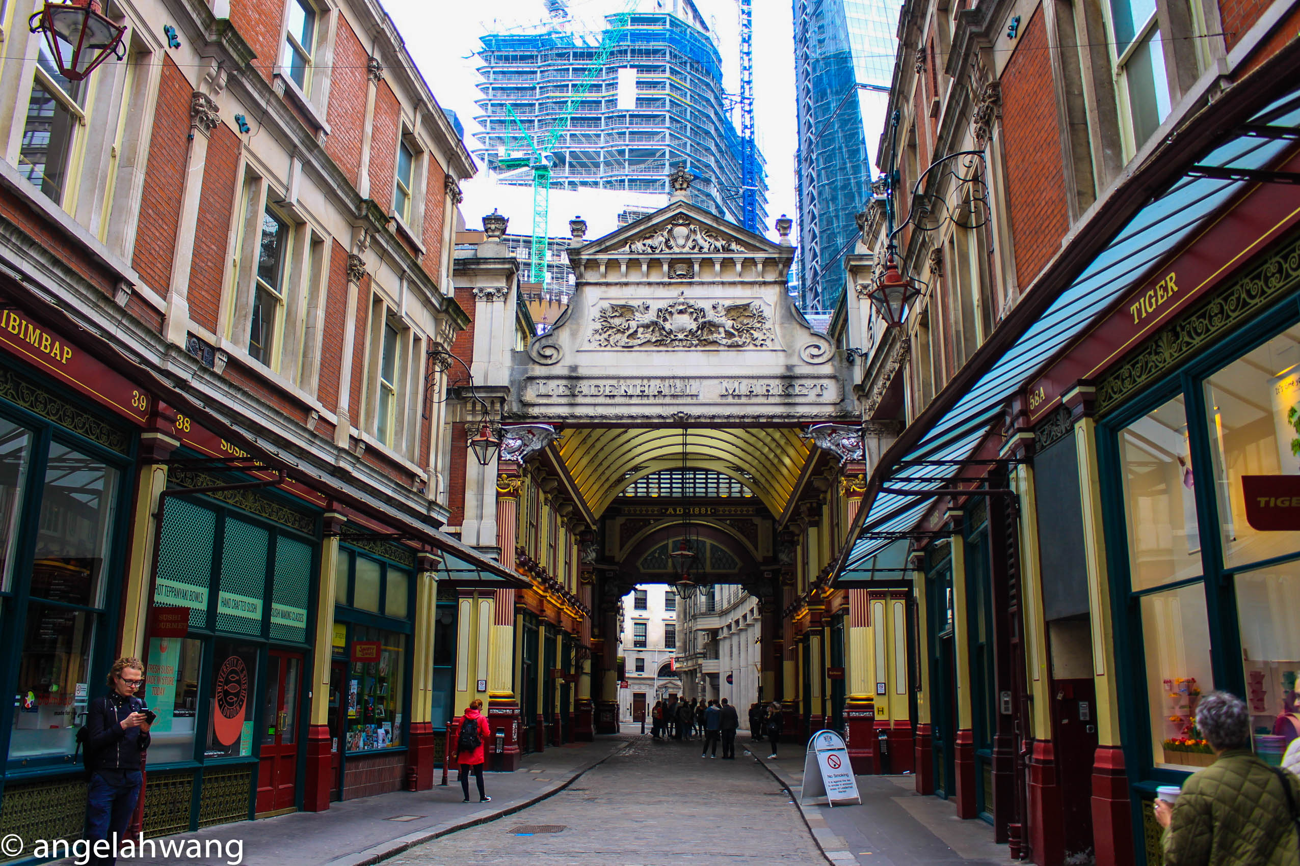 Central London - Leadenhall Market
