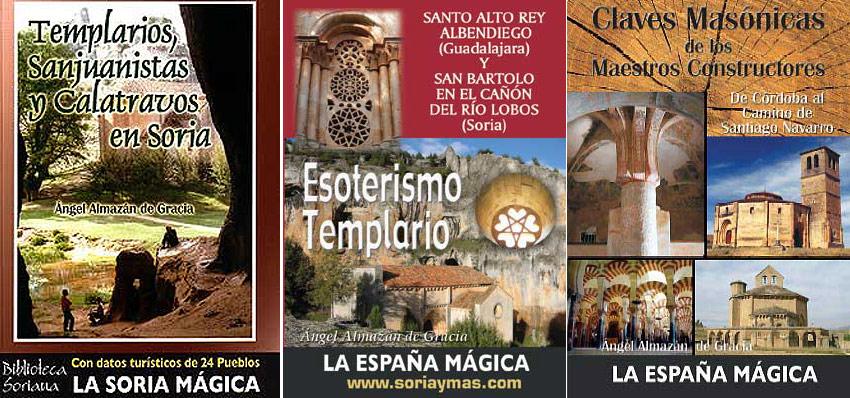 Templarios en Soria, libros de Angel Almazan