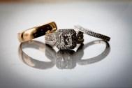 Amanda and Mike's rings