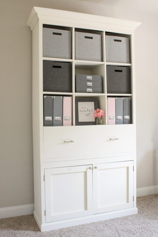 Charmant DIY Office Storage Cabinet Bookcase