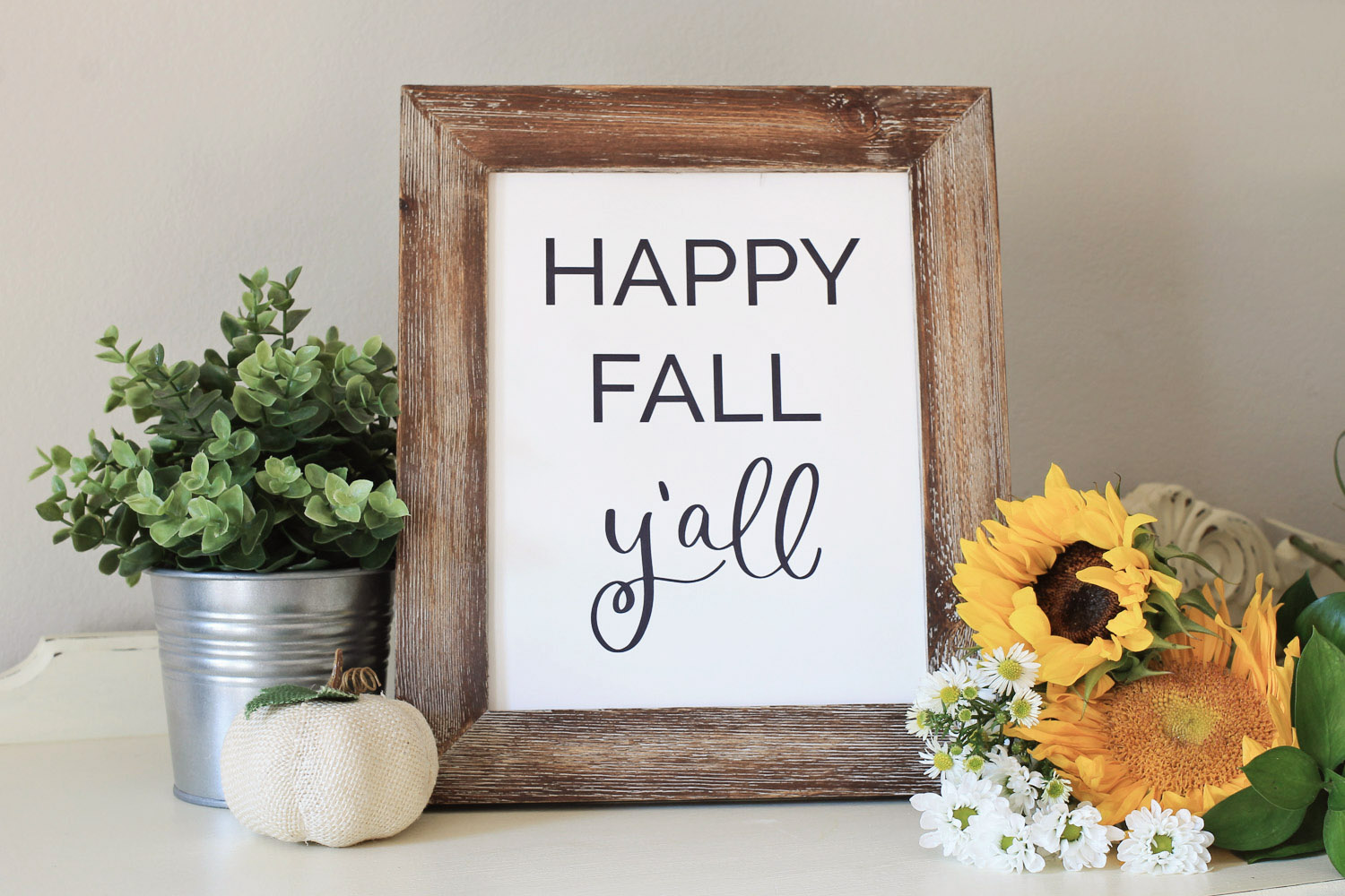 photo about Happy Fall Yall Printable known as Joyful Drop Yall Printable - Angela Marie Generated