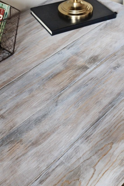 How to create a weathered wood gray finish angela marie made how to create a weathered wood gray finish solutioingenieria Images